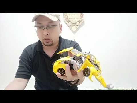Unboxing transformer WEIJIANG hornet warrior robot force - BOTAK KECE
