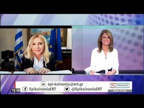 """Φ. Αραμπατζή: Η καταγραφή αποθεμάτων αιγοπρόβειου κρέατος &αυγών """"όπλο"""" κατά των ελληνοποιήσεων  ΕΡΤ"""