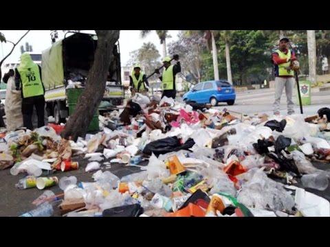 Sufriremos las consecuencias por tirar la basura en las calles