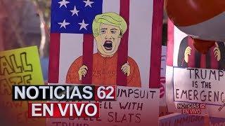Protesta contra Donald Trump hoy día de los Presidentes. – Noticias 62. - Thumbnail