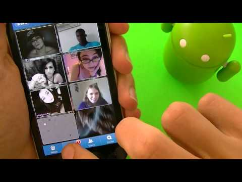 TinyChat for Android! Chat with the world and Group vid ...