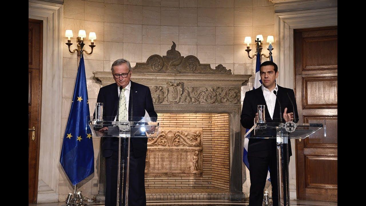 Κοινές δηλώσεις με τον Πρόεδρο της Ευρωπαϊκής Επιτροπής κ. Ζ.Κ. Γιούνκερ