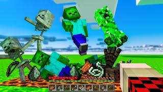 MAGMA BLOCK AUTO-FARM!   Minecraft SkyBounds #11   Bajan Canadian