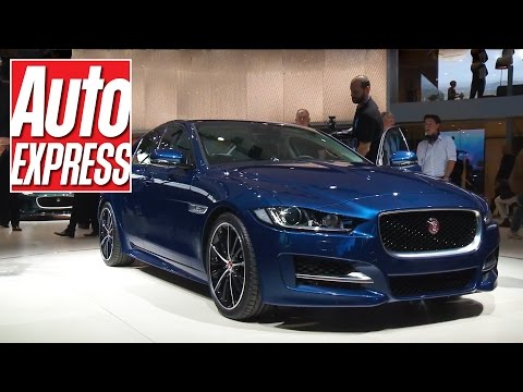 Jaguar XE at the Paris Motor Show