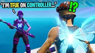 This 12 year old CONTROLLER player says he's TFUE of console Fortnite...