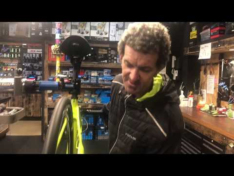 How to adjust your rear Shimano DI2 gears