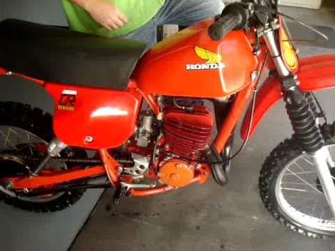 1979 Honda CR250 for sale by East Coast Vintage MX
