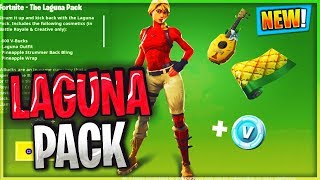 NEW FORTNITE STARTER PACK REWARDS! - LAGUNA SKIN, 600 V BUCKS, WRAP & MORE! (Fortnite Battle Royale)