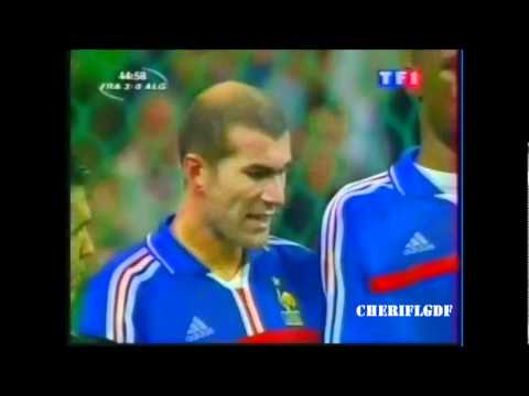 France 4-1 Algérie (Match amical 2001)