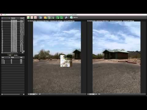 Autopano: Using control points