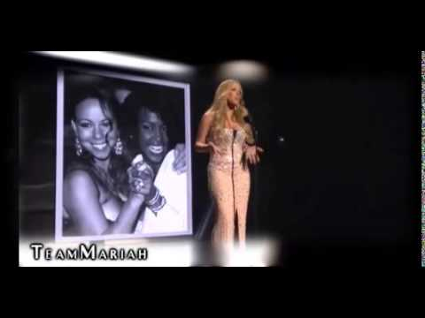 Mariah Carey SPEECH about Whitney Houston (BET Awards)