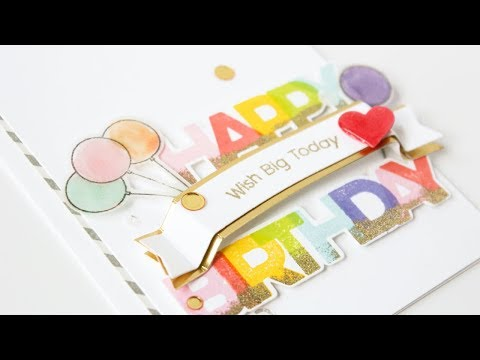 Happy birthday quotes - Sparkle & Shine with Carissa Wiley  Colorful Birthday Wishes