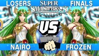 Collision 2019 Losers Finals - Nairo (Palutena) vs Frozen (Palutena) - Smash Ultimate