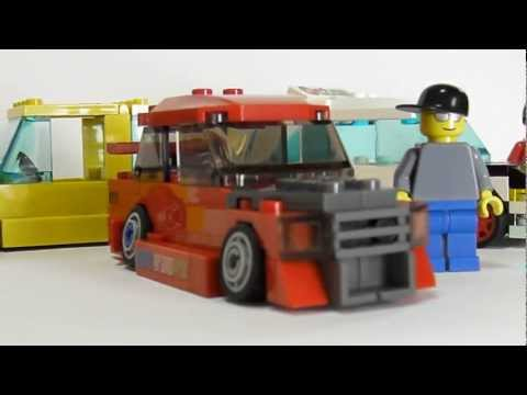 Stanced Lego Car – Build it Yourself