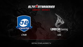 Union vs CNB.br, game 1
