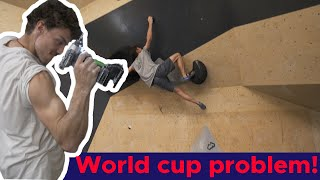 Can pro setter re-create a world cup problem? || Bouldering Bobat by Bouldering Bobat