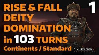 Video Civ 6: Rise&Fall - T103 Deity Domination - Mongolia - Part 1 MP3, 3GP, MP4, WEBM, AVI, FLV Maret 2018