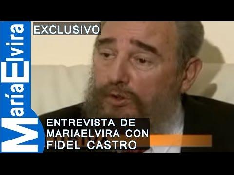 elvira castro - http://mariaelviralive.com Luego de incesantes esfuerzos Maria Elvira logra en 1995 una entrevista con Fidel Castro --cara a cara—por una hora en la Misión C...