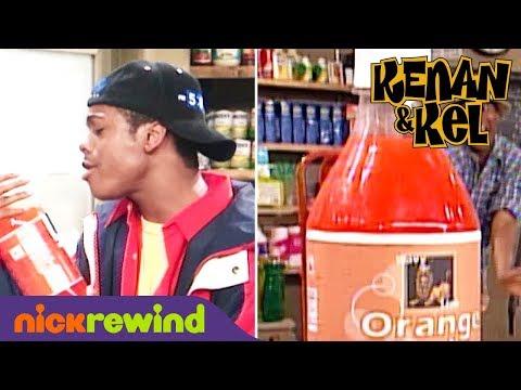 Who Loves Orange Soda?! Kel Mitchell Does! | Kenan & Kel | NickRewind