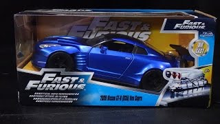 Nonton Fast & Furious 6 - Nissan GTR Ben Sopra R35 - Jada Toys Unboxing - 1/24 Scale Model Car Film Subtitle Indonesia Streaming Movie Download