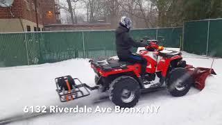 9. Plowing Properties with Polaris Sportsman 570 ATV