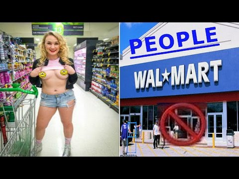 CRAZY 2016! INAPPROPRIATE PEOPLE AT WALMART