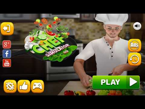 Virtual Chef Cooking Game 3D: Super Chef Kitchen - Android Gameplay