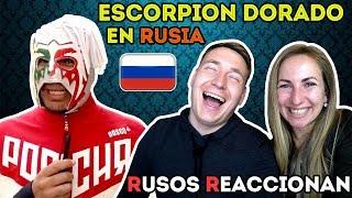 🇷🇺RUSOS REACCIONAN a ESCORPIÓN DORADO en RUSIA | Un día con Escorpión en Rusia