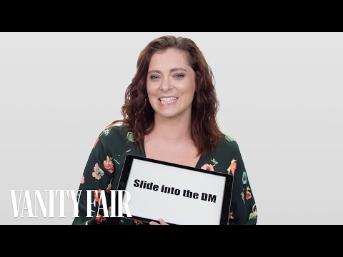 Rachel Bloom Explains Dating Slang