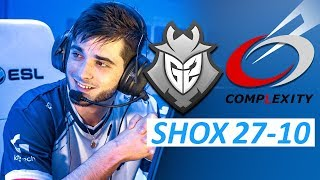 🇫🇷 shox 27-10 / G2 vs compLexity - Dust2 / cs_summit 3