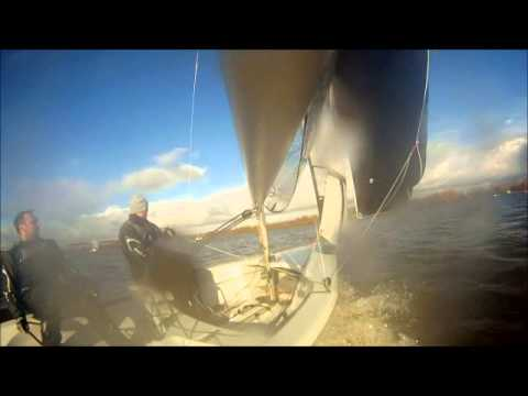 Leigh & Lowton SC – RS400 – The capsize