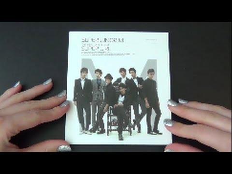 Unboxing Super Junior-M 1st Mini Album Super Girl