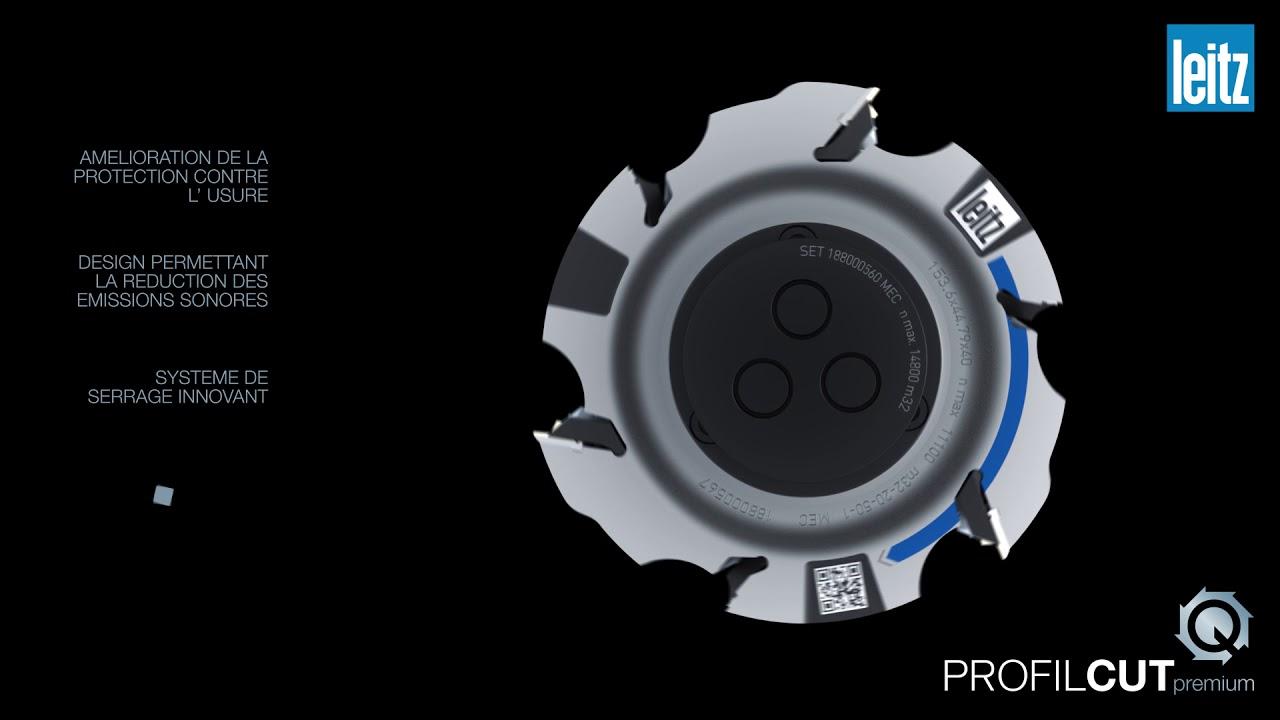 Leitz ProfilCut Q Premium – Le système d'outil de profilage le plus rapide de la branche