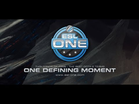 Dota 2 Tournament - ESL ONE Teaser