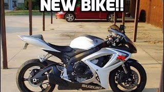 5. I got a new bike!!! GSXR-600. Test Ride, Family Reaction.