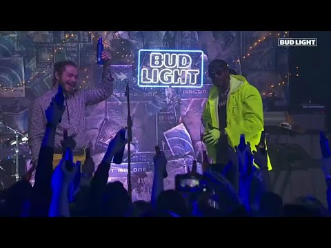 Video Post Malone & 2 Chainz Perform