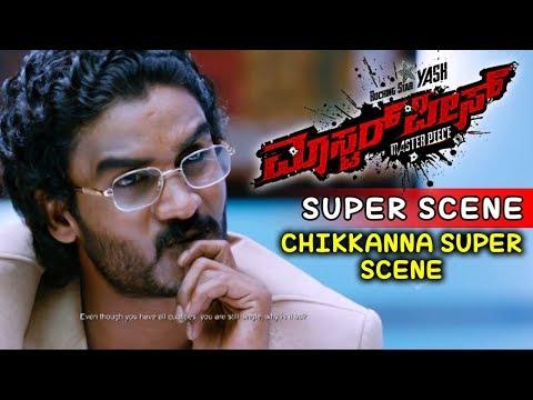Video Chikkanna Comedy Scenes | Chikkanna Super anchor comedy scenes |  Masterpiece  Kannada Movie download in MP3, 3GP, MP4, WEBM, AVI, FLV January 2017