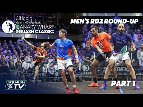 Squash: Canary Wharf Classic - Rd 2 Roundup [Pt. 1]