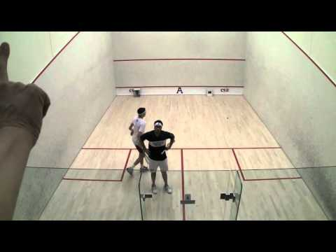 Men's College Squash: 2012 Individual Championships (Pool Trophy) Semi Final – Harvard and Trinity