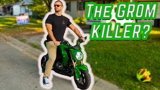 7. Trying Out the Kawasaki Z125 Pro