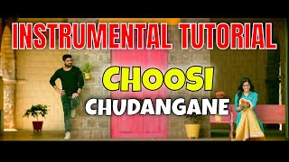 🎹 CHOOSI CHUDANGANE Instrumental Cover Piano Keyboard Notes Tutorial #choosichudangane #chalo