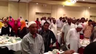 The 2013 Ramadan Iftar With First Hijrah Community In Washington, DC.