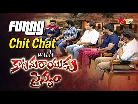 Pawan Kalyan's Katamarayudu Team Funny Chit Chat