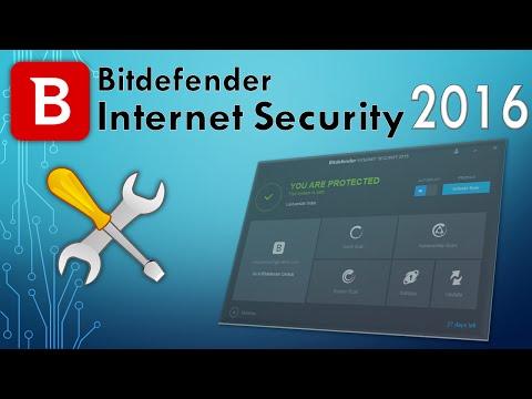 Bitdefender Internet Security 2016 1 User 1 Year (Best antivirus 2014)