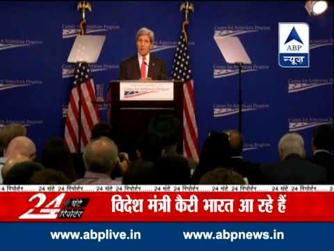 John Kerry hails Modi for inviting Sharif for swearing-in ceremony 29 July 2014 05 PM