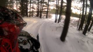 4. 2003 Arctic Cat ZR 800 EFI Trail Ride - GoPro Hero 3