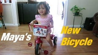 Nonton My 2 Year Old Girl's NEW BICYCLE - Maya's new bike! :-) Film Subtitle Indonesia Streaming Movie Download
