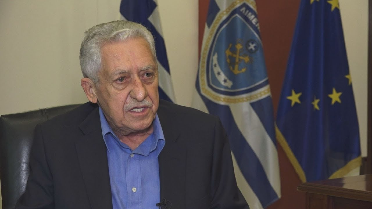 Συνέντευξή του υπουργού  Ναυτιλίας και Νησιωτικής Πολιτικής Φώτη  Κουβέλη στο ΑΠΕ-ΜΠΕ