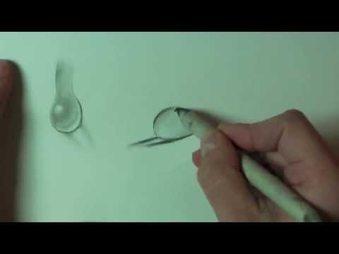 Wie zeichnet man Wassertropfen /// Freitagslektion im Online Zeichenkurs