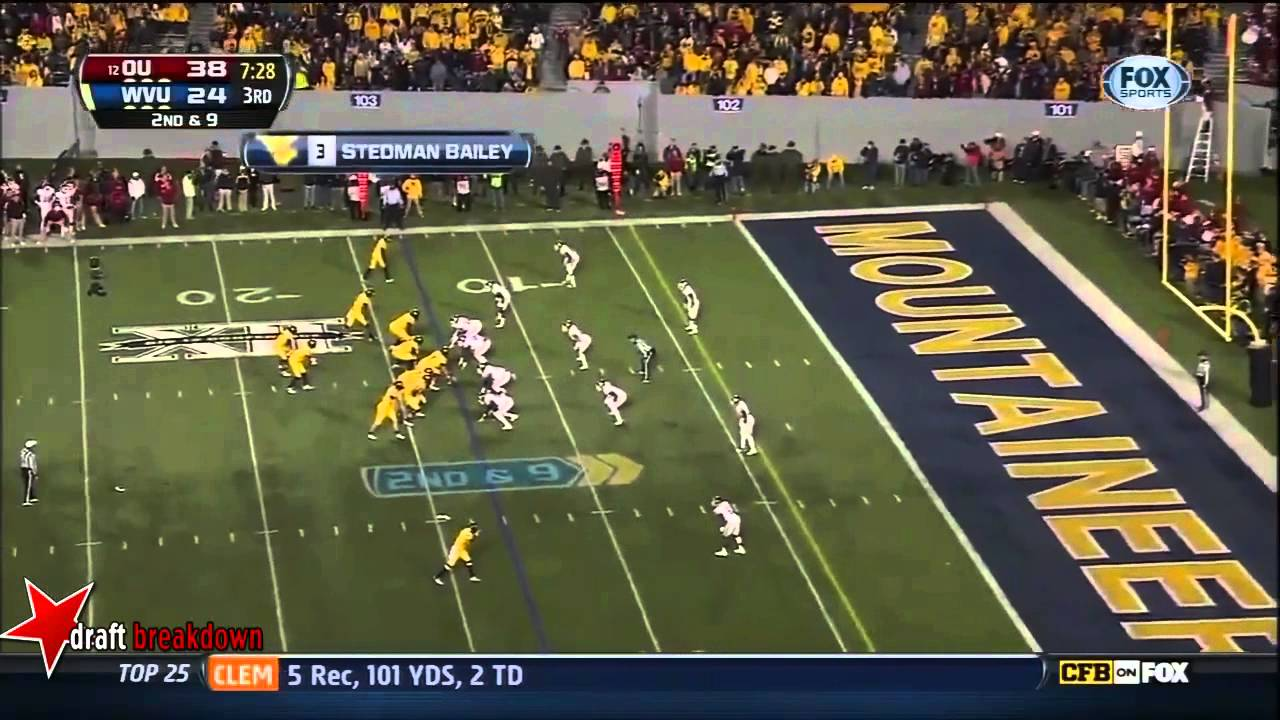 Aaron Colvin vs West Virginia (2012)
